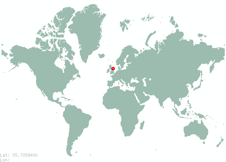 Lund in world map